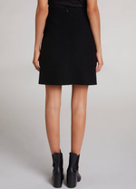 Oui Wool Short A-line Skirt