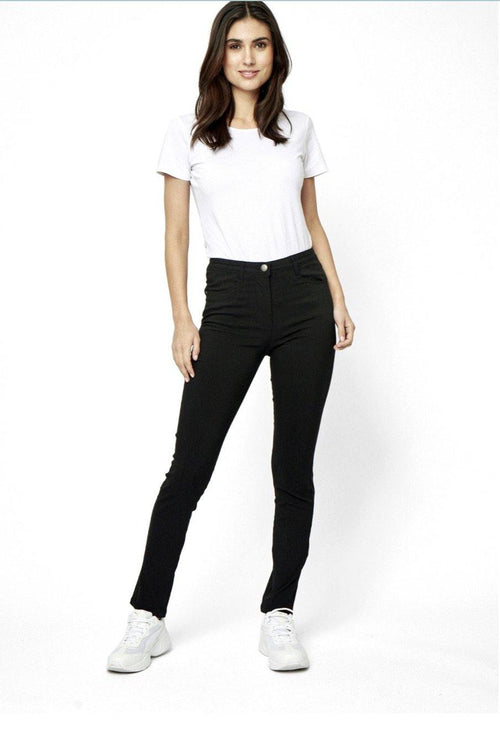 Soyaconcept Lily Black Jean Jeggings - Ribbon Rouge Boutiques