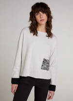 Oui Relaxed Fit Pocket Jumper