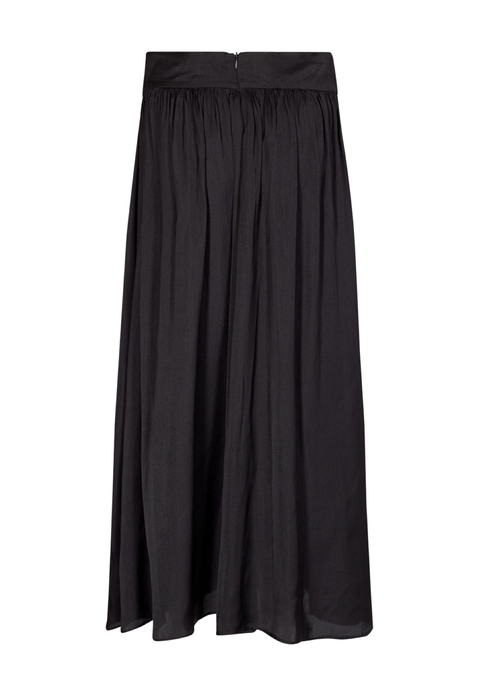 Soya Concept Pamela Long Black Skirt - Ribbon Rouge Boutiques