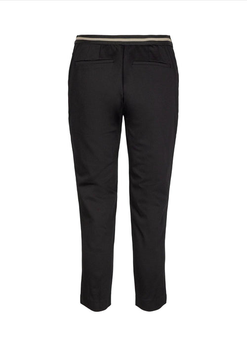 Soya Concept Luba Black Trousers - Ribbon Rouge Boutiques