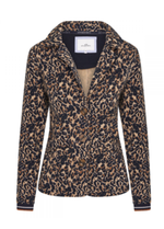 Hv Society Lela Animal Print Blazer - Ribbon Rouge Boutiques
