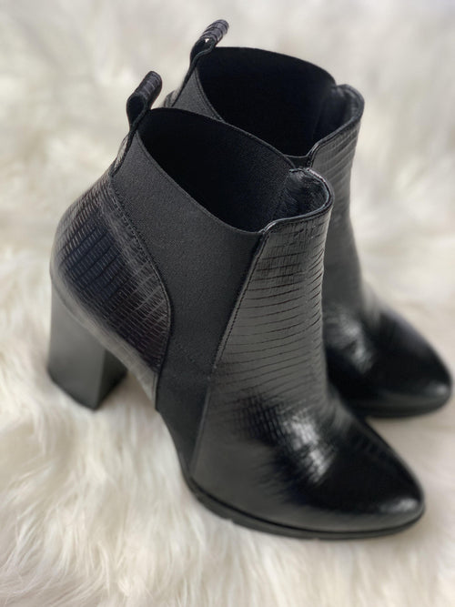 Ribbon Rouge Tejus Nero Black Boot - Ribbon Rouge Boutiques