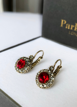 Parkside London Antique Silver Hoop Earrings - Ribbon Rouge Boutiques