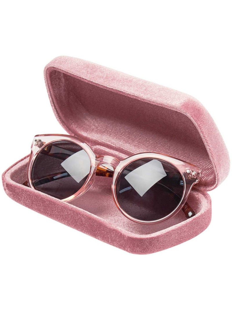 numph nuhjalpy pink tortoiseshell sunglasses in case 700239