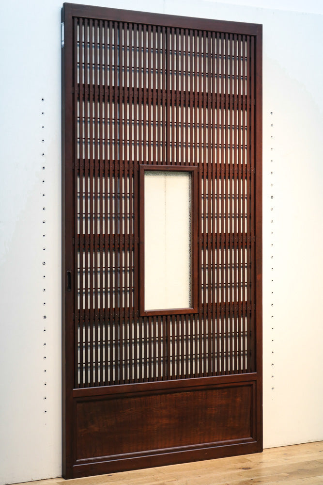Width 891mm 4 sheets in stock of lattice door F6916 full of emotion with glass window in the center