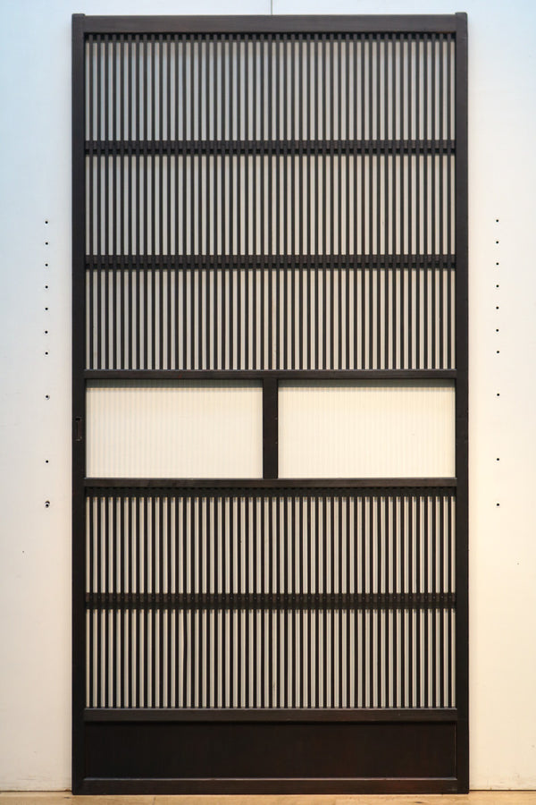 Osaka lattice door F6985 stock 1 piece drifting retro feeling in the width 900mm mall glass