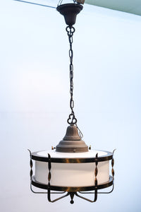 Large-scale size! One light chandelier DB7516 which is refined by twister-formed elegant decoration metal fittings