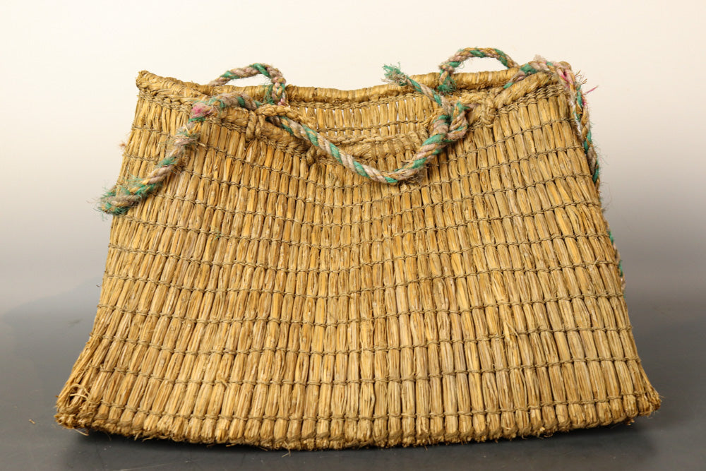 Dressy straw knit bag DB 7792