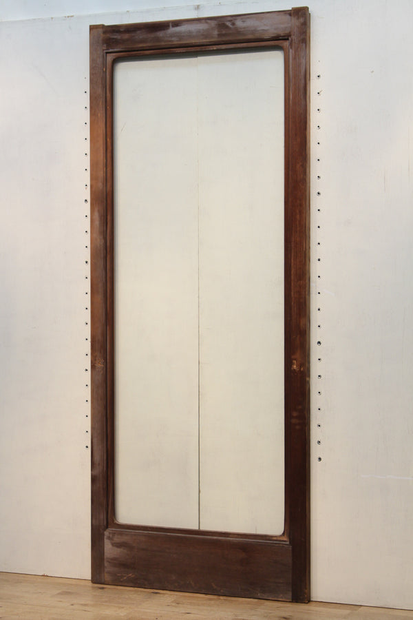 Large-format single-glass slim-width glass door F5208 1 sheet in stock