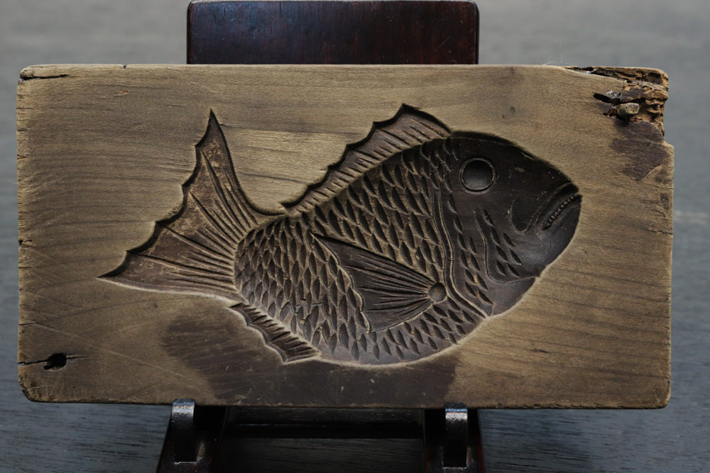 Carefully carved fish confectionery DB8121a-c stock (a:1 b:1 c:1)