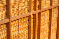 Two pieces of dignified bamboo-woven door F6783 stock which I attached an 875 millimeters in width hawk and the watermarks board of the pine to