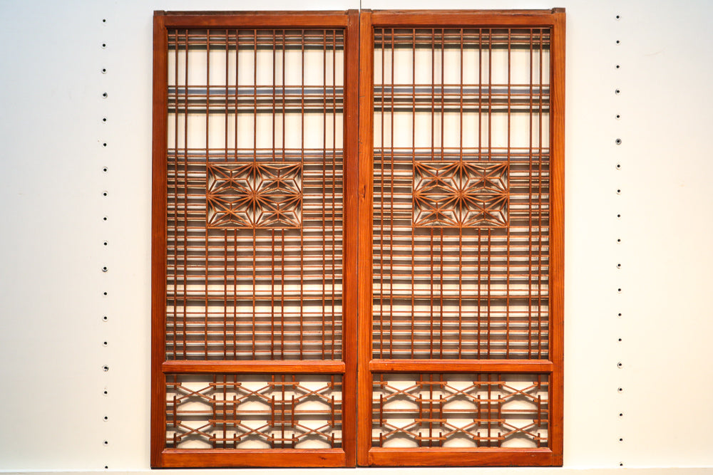 Elegant elegant Shoin E7916 with arrangement geometric pattern 2 sheets in stock