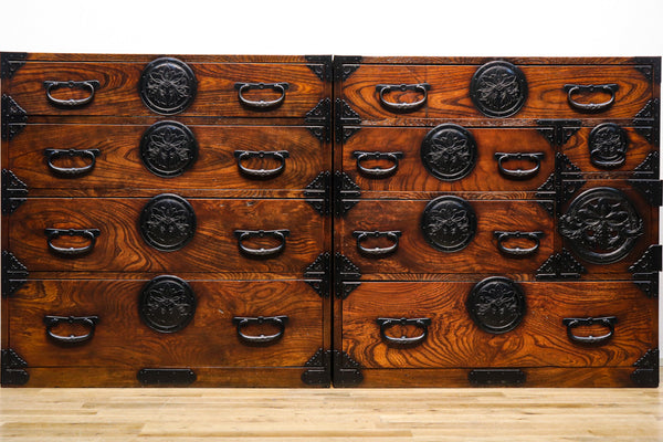 Rare!! While matching! ! Best Metal Fittings Sendai Costume Chest Ba8712-MT
