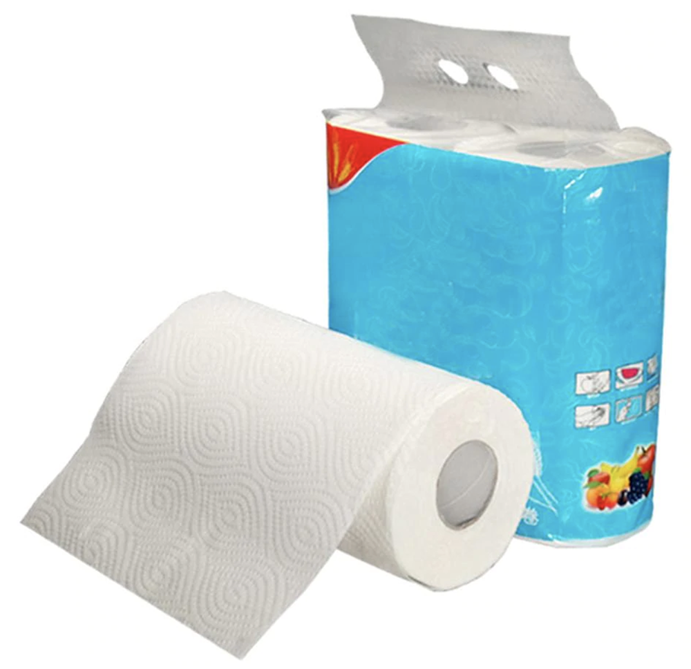 Super Absorbent White Paper Towels