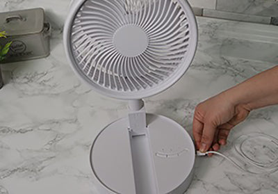 Foldable USB Rechargeable Fan