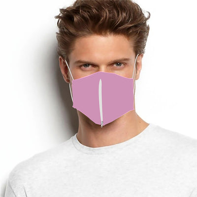 Reusable Zipper Mask Face Cover