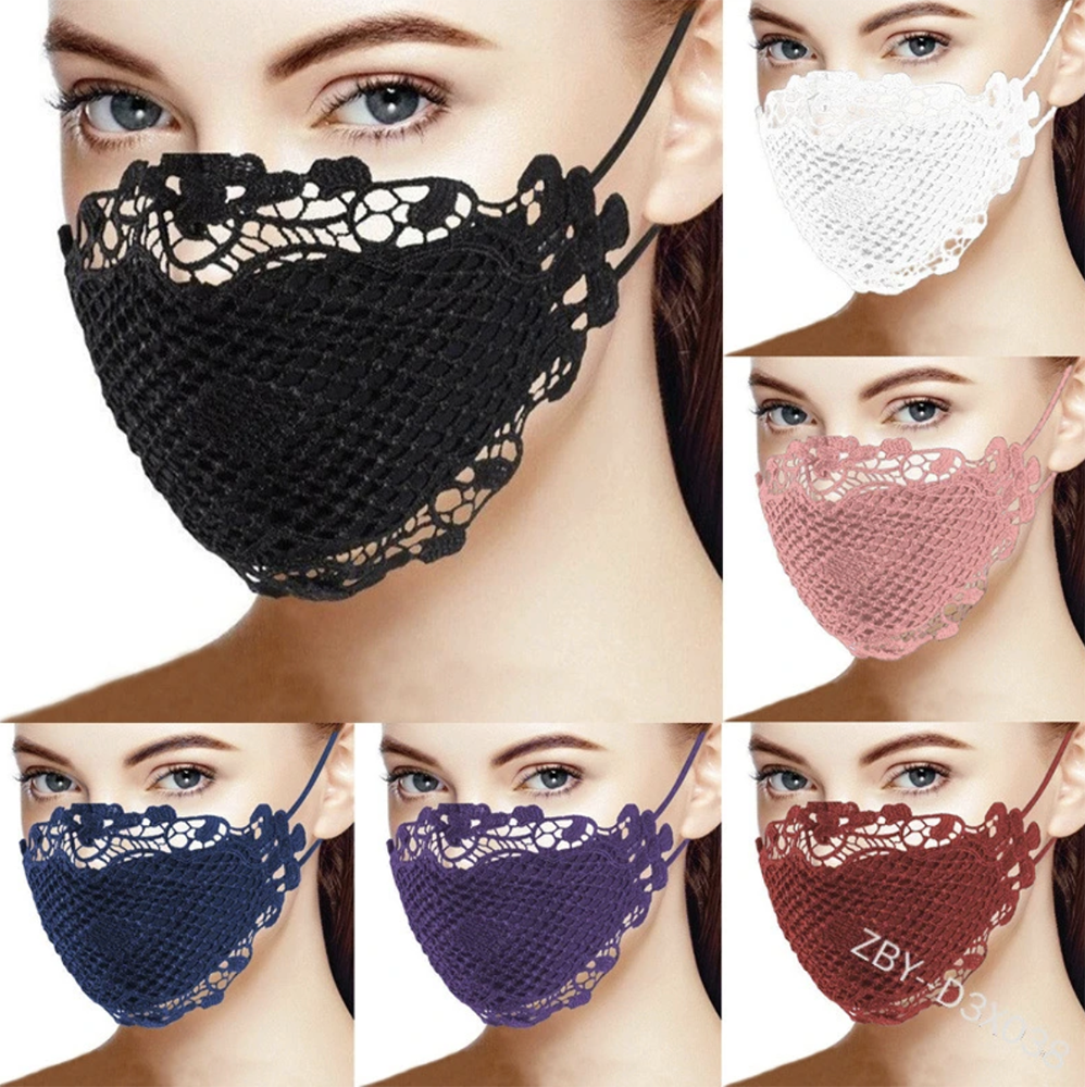 Lace Windproof Mask