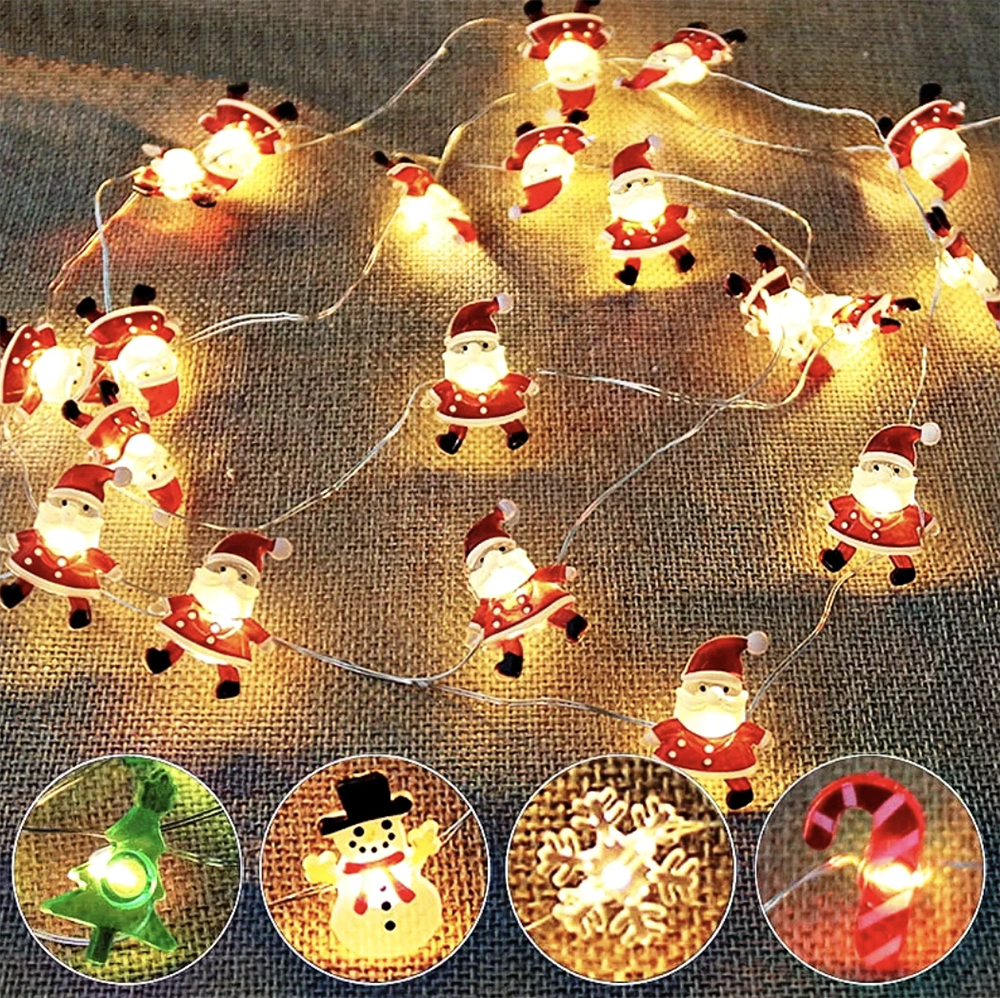 Fun LED Christmas String Lights