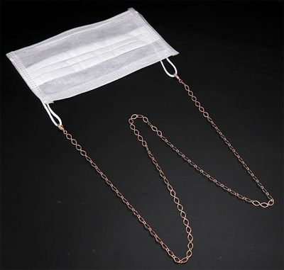 Mask Holder Lanyard Chain Necklace