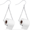 Handmade Toilet Paper Earrings 2021 Best Gift