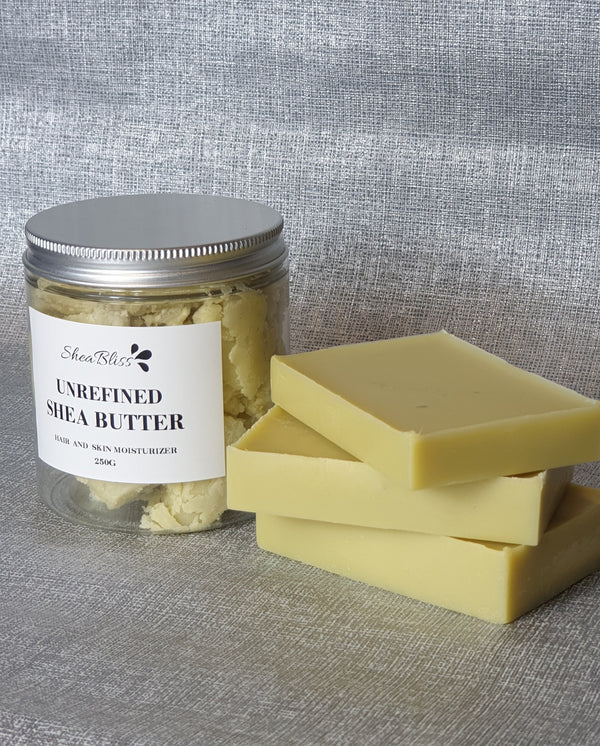 Raw unrefined Shea butter - Shea Bliss Natural
