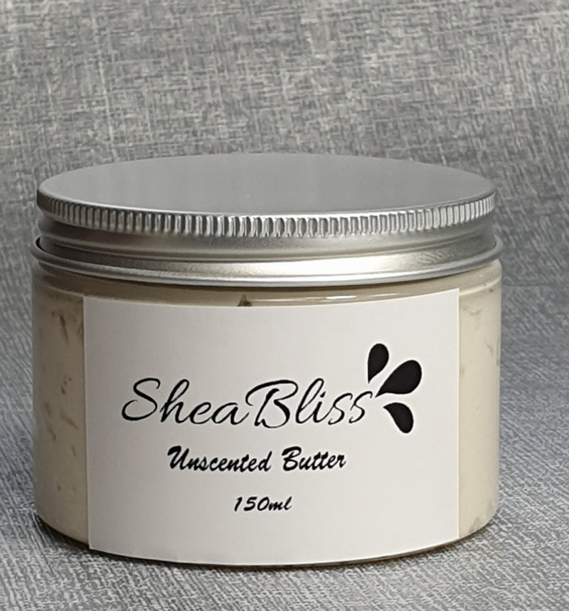 Unscented Whipped Shea Butter - sheabliss