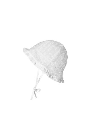 MP Flora Bell Hat White