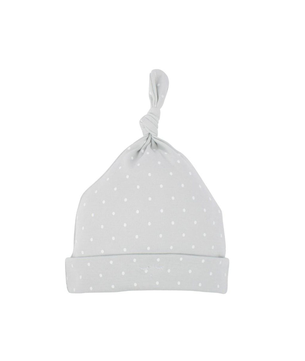 Livly Saturday Tossie Hat Grey White Dot