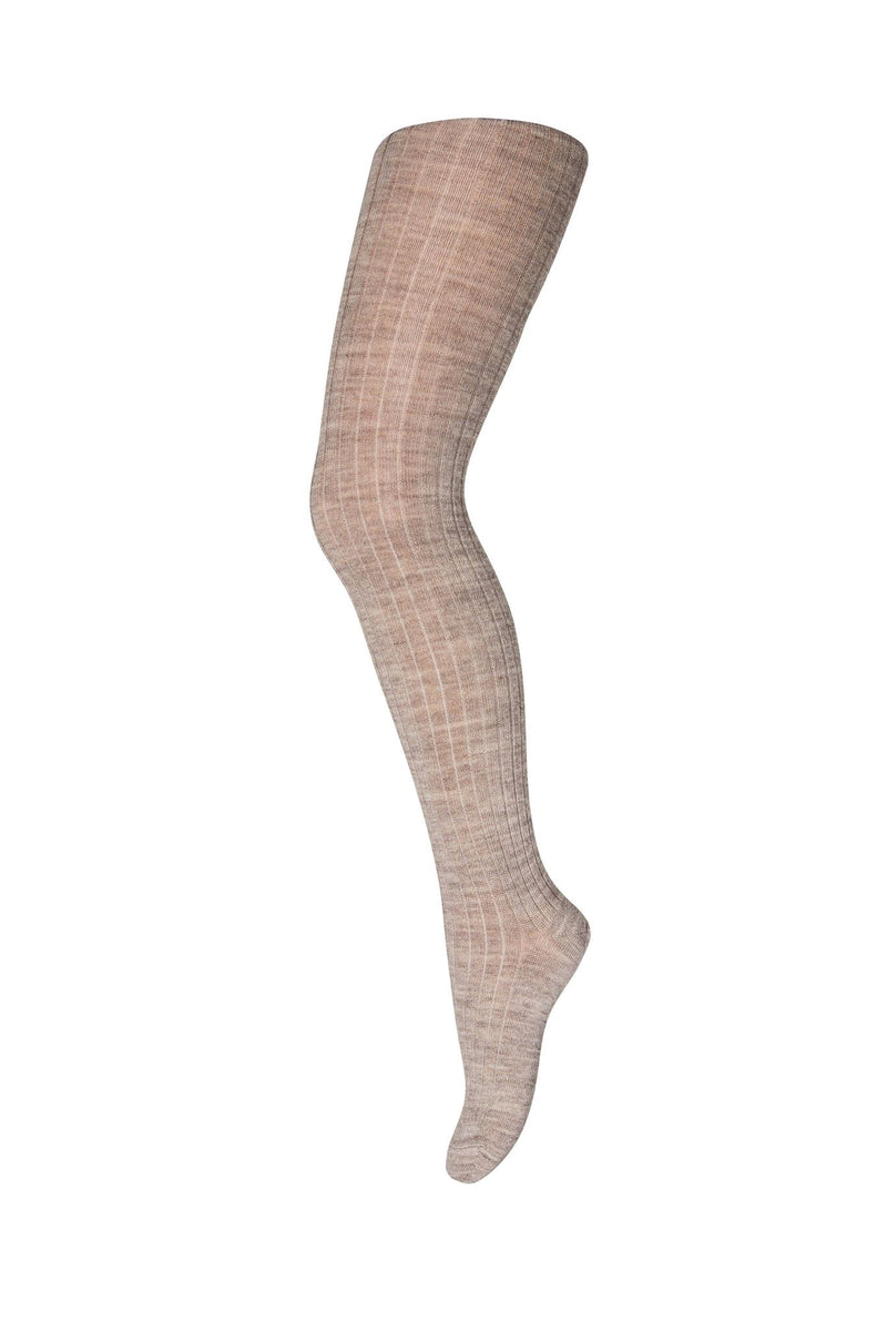 MP Tights Wool Lys Brun