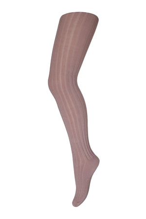 MP TIGHTS COTTON RIB Rose Grey