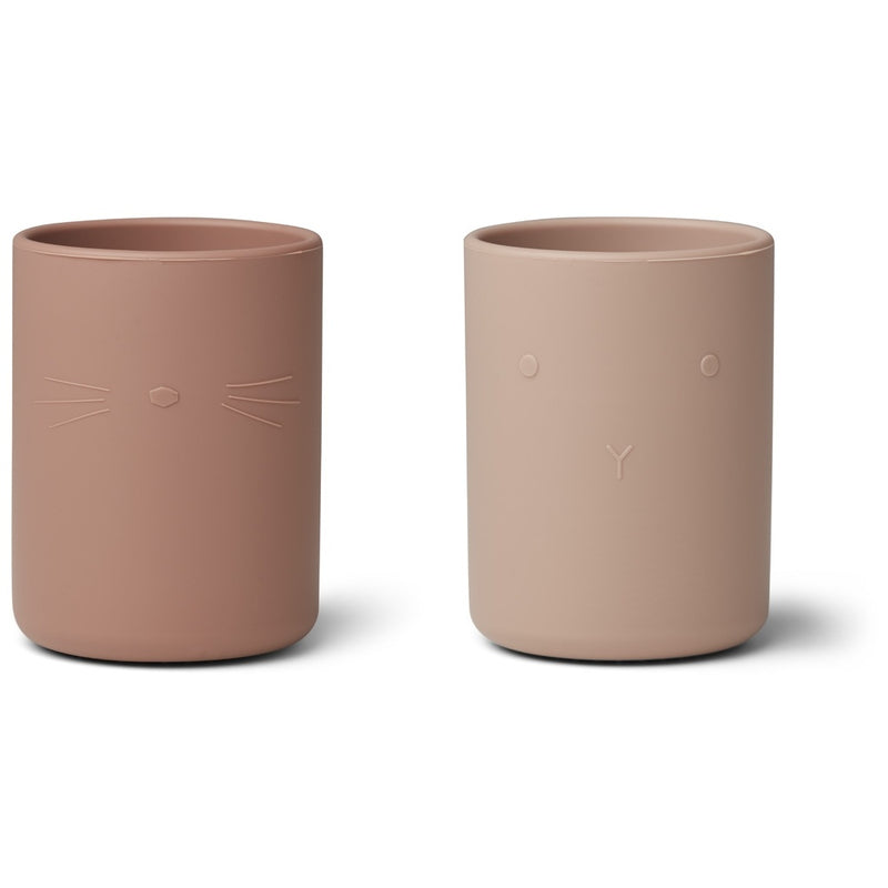 Liewood Ethan cup - 2 pack Rose mix