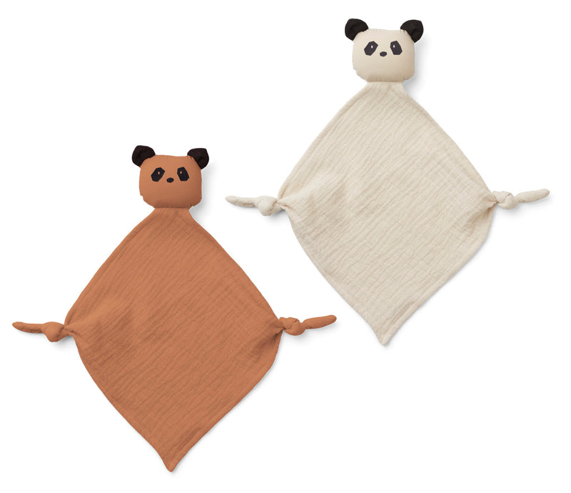 Liewood Yoko Mini Cuddle Cloth Panda Tuscany Rose