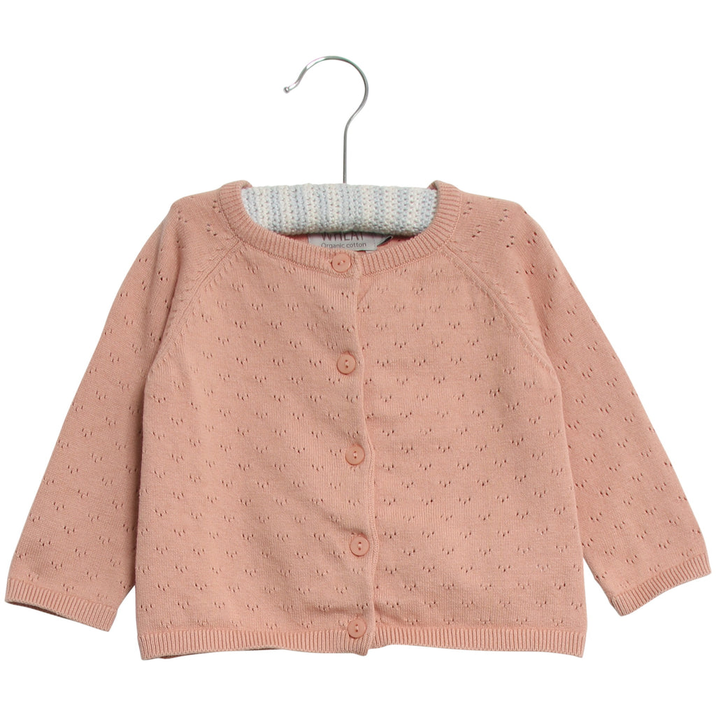 Wheat Knit Cardigan Maja Misty Rose