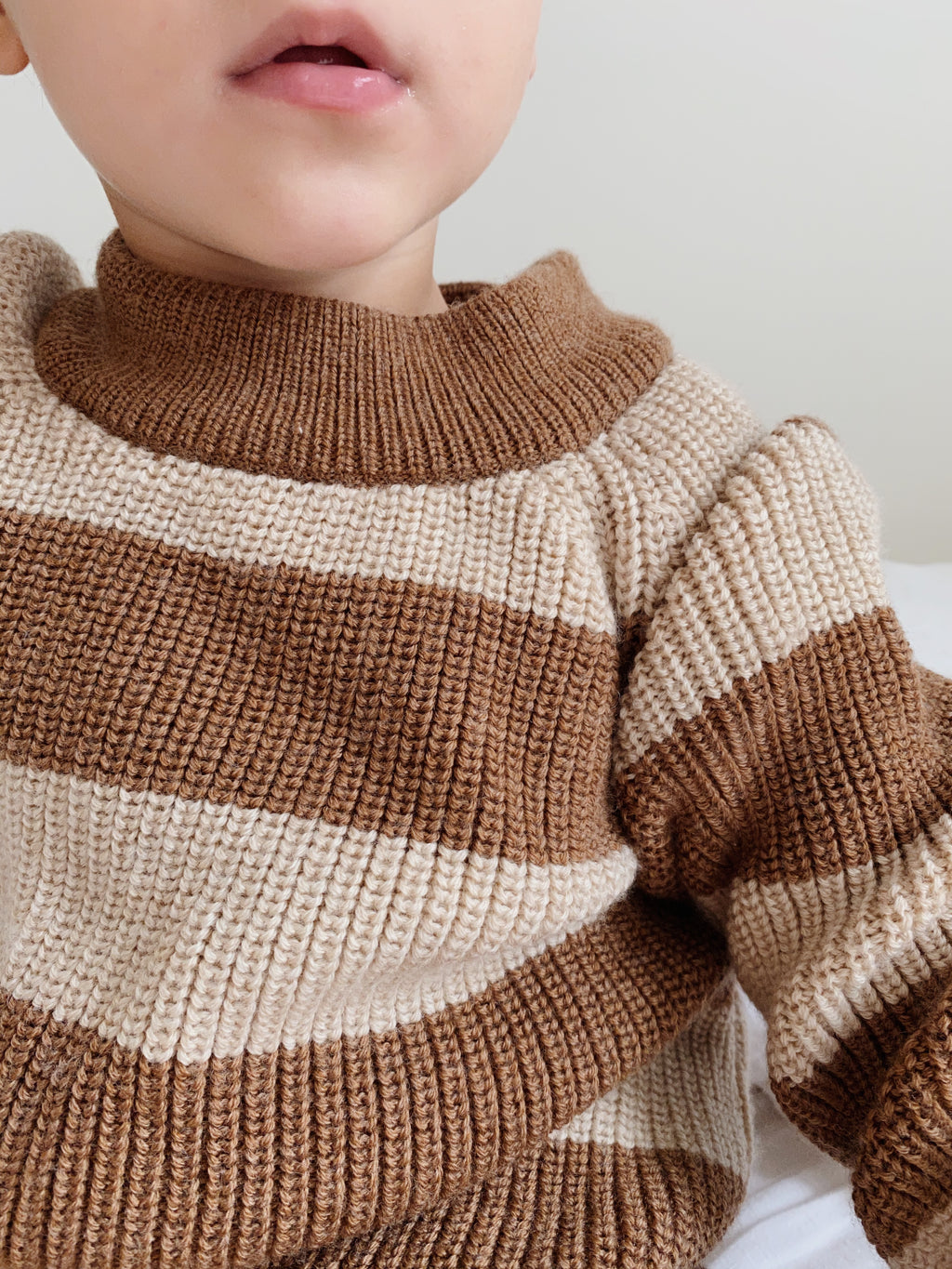 Konges Sløjd Witum Knit Sweater Almond/creamy white