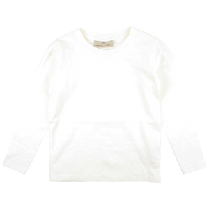 Nordic Label LS Top Hvit