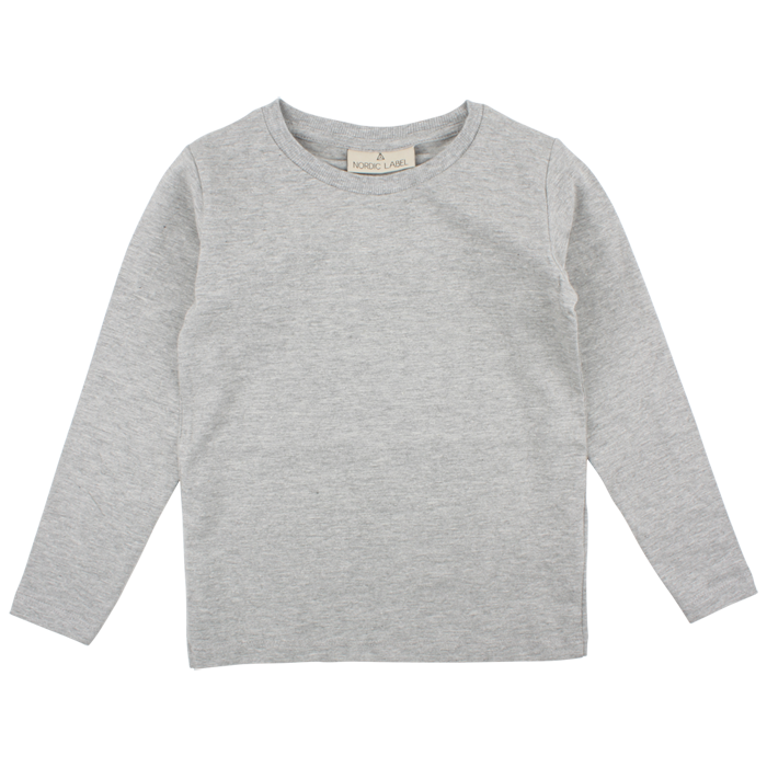 Nordic Label LS Top Grey