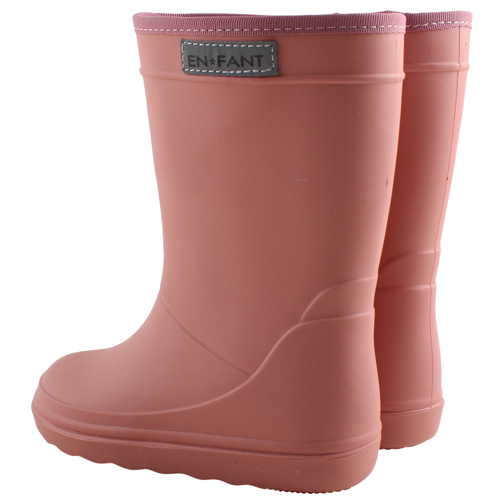 EnFant Triton Rain Boot Old Rose