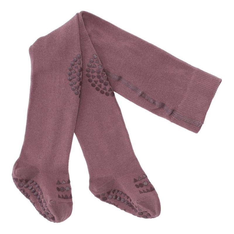 GoBabyGo Crawling tights Plum