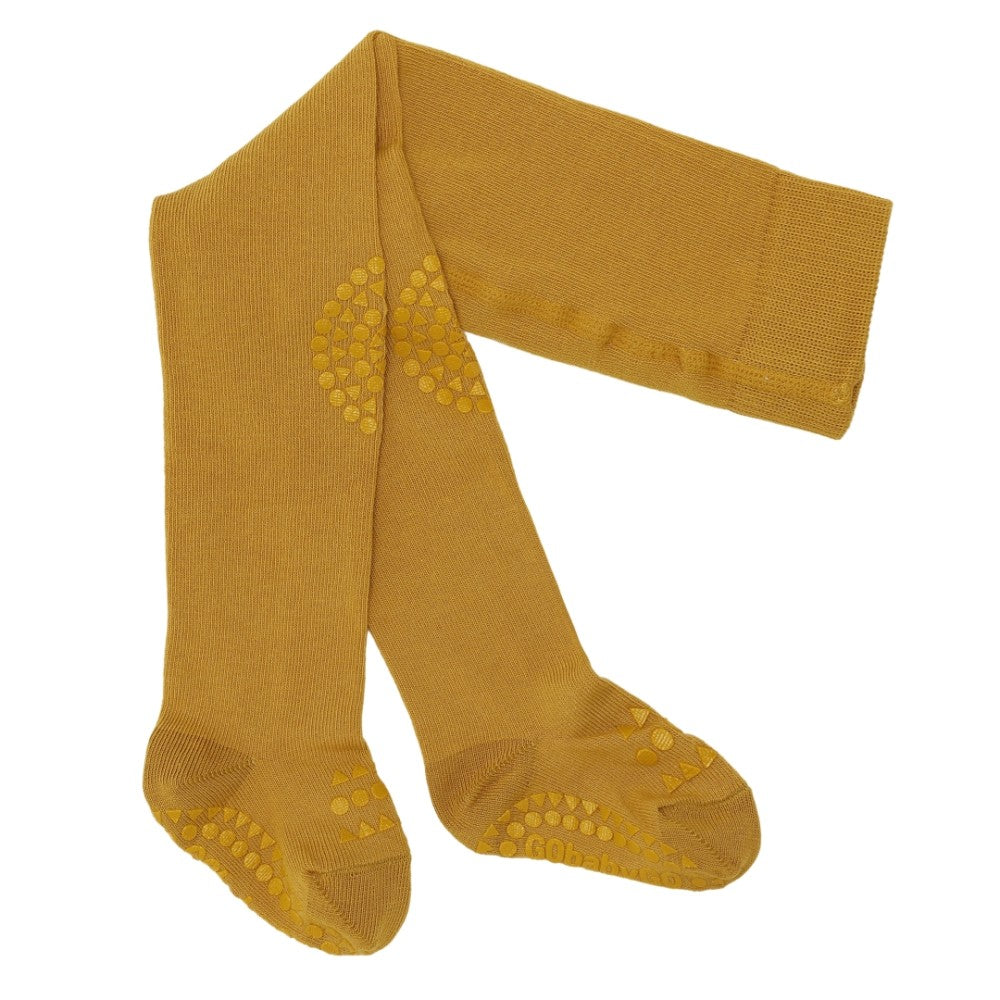 GoBabyGo Crawling tights Mustard