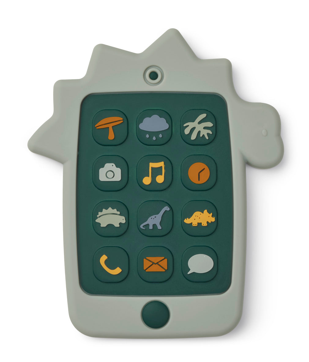 Liewood Thomas mobile phone Dino Dove Blue