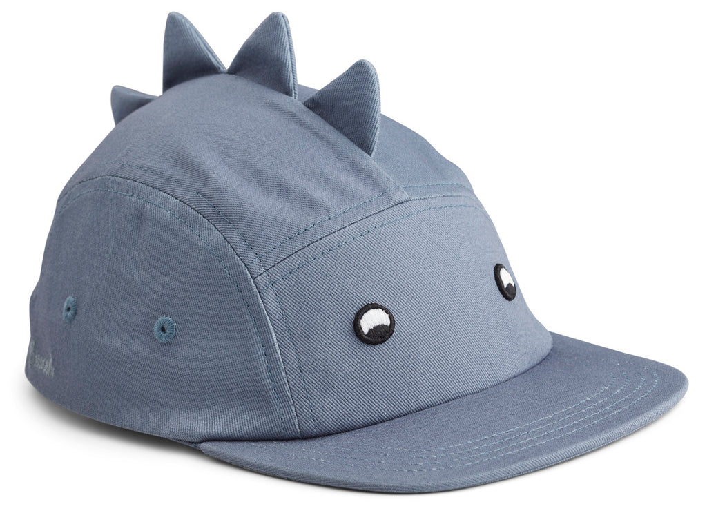 Liewood Rory Cap Dino Blue Wave