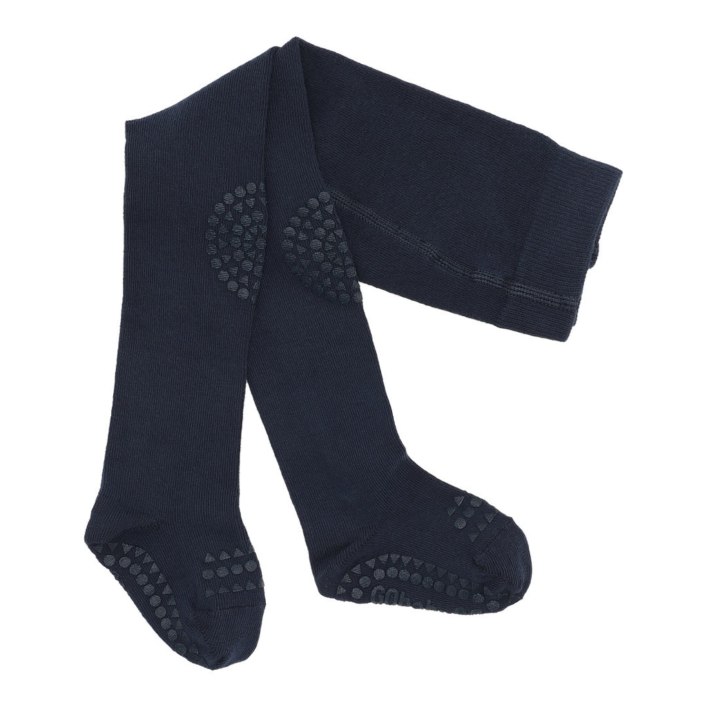 GoBabyGo Crawling tights Navy blue