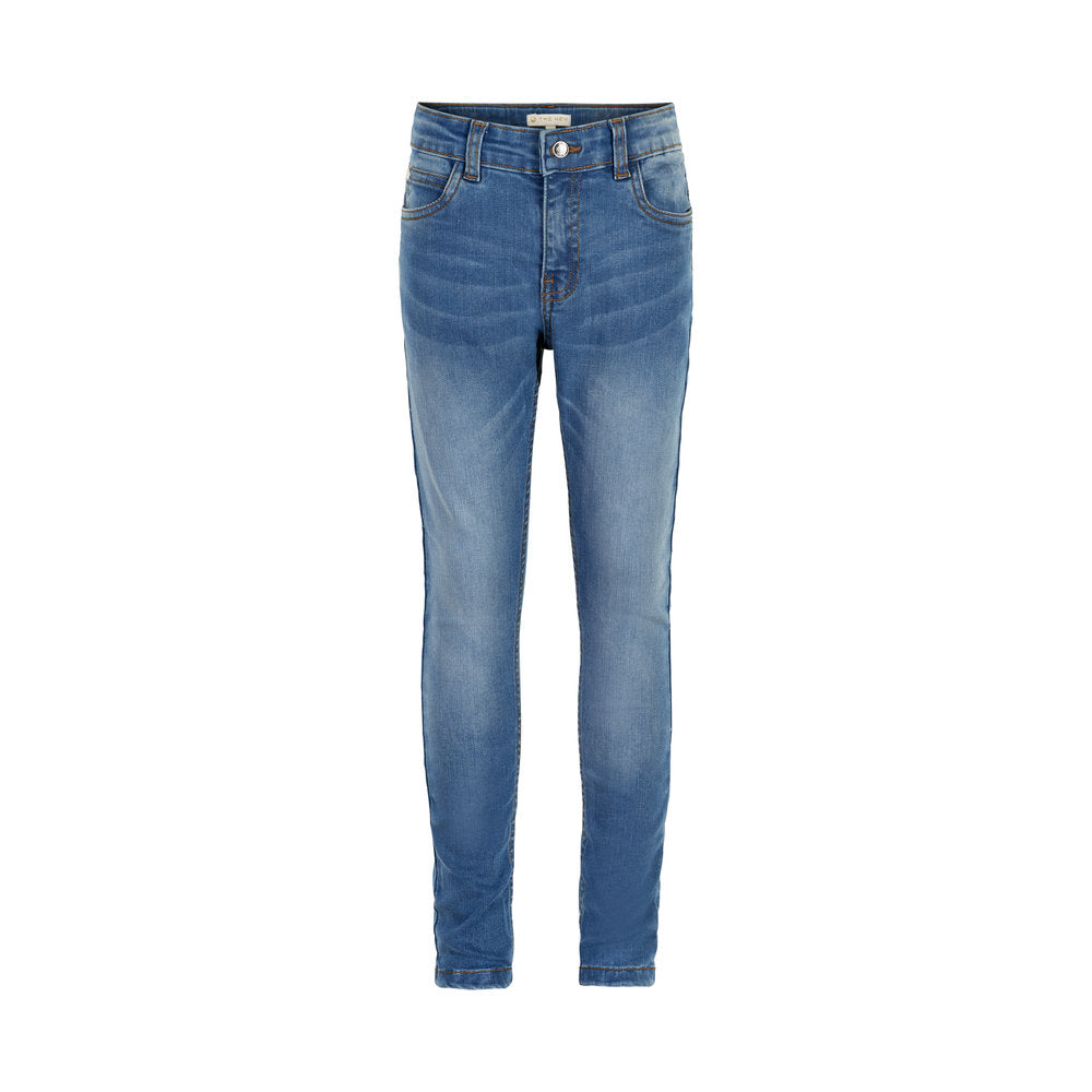 THE NEW Copenhagen Slim Jeans Med Blue