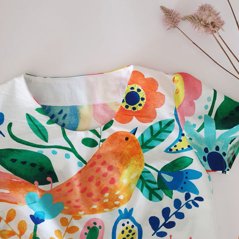 Birds of Paradise Daisy top