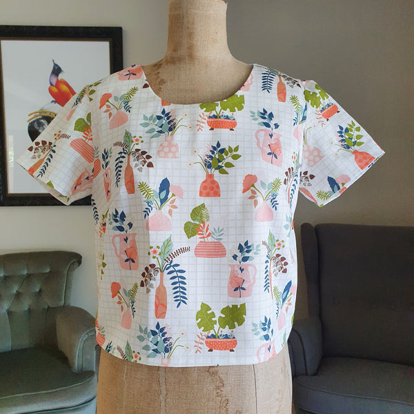 Plant Lady Daisy top
