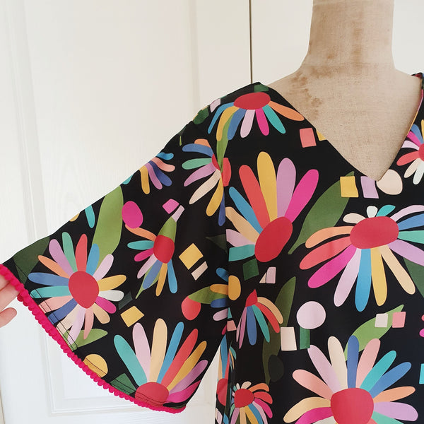 Rainbow Echinacea Sadie Dress