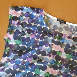 Watercolour Dot Vivienne Top