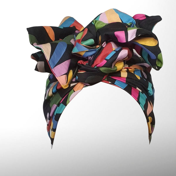 Rainbow Echinacea Josephine Wired Headwrap