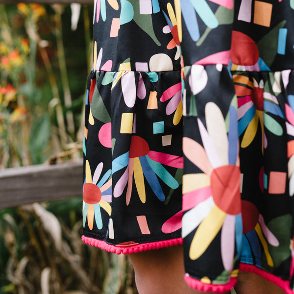 Rainbow Echinacea Grace Dress